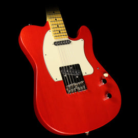 Used Buzz Feiten T Pro Electric Guitar Trans Red