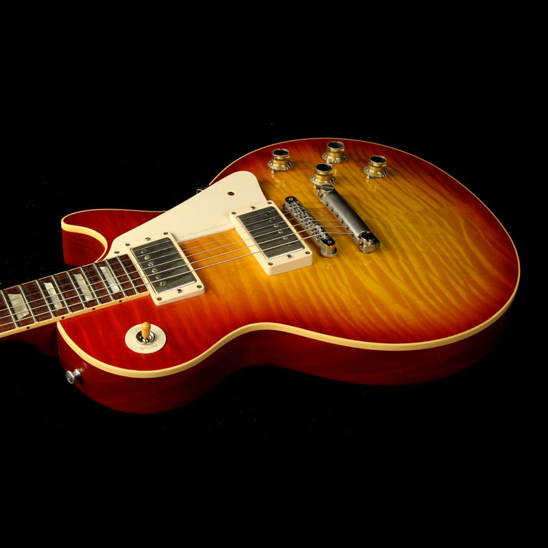 Used 2009 Gibson Custom Shop '60 Les Paul Electric Guitar Washed Cherry 9434