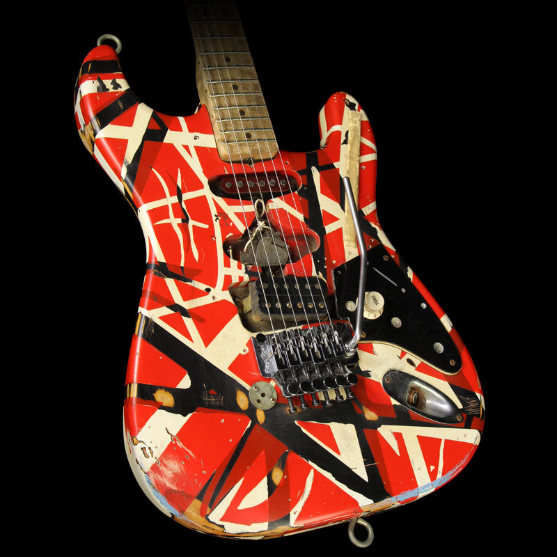 Used 2007 EVH Limited Edition Frankenstein Replica Electric Guitar Frankenstein Stripe XN50494
