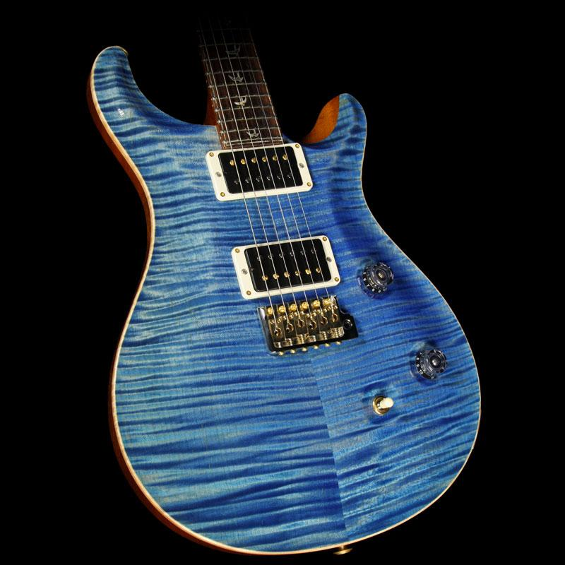 PRS 30th Anniversary Private Stock Custom 24 Electric Guitar Royal Blue 2014 14-214484