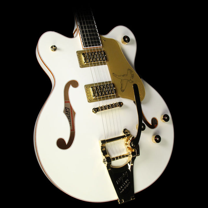 Used Gretsch G6636T Players Edition White Falcon Double-Cut Electric Guitar with Bigsby JT17010336