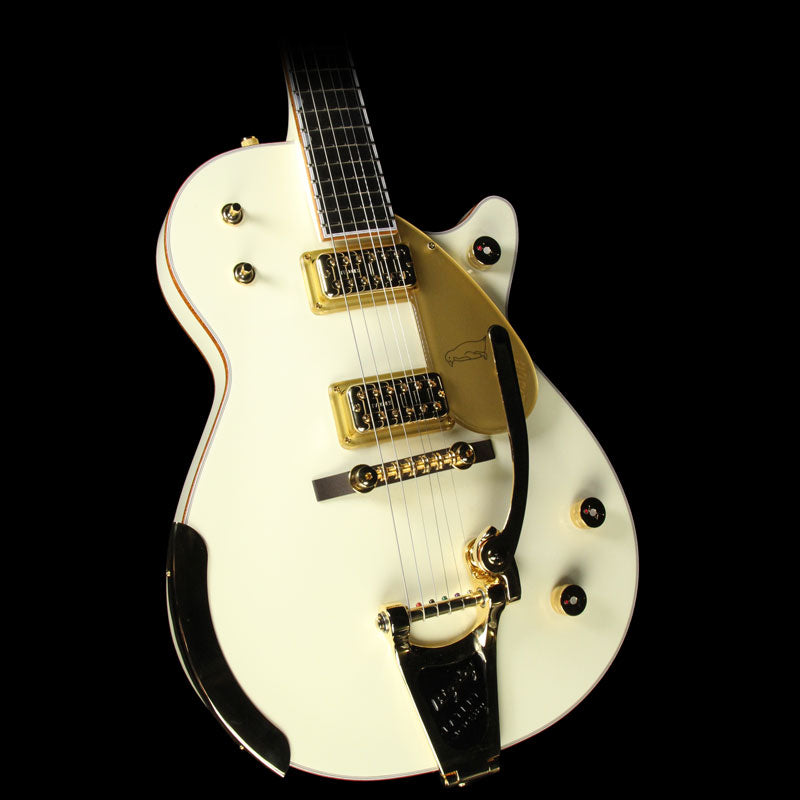 Used Gretsch G6134T-58 Vintage Select '58 White Penguin Electric Guitar with Bigsby