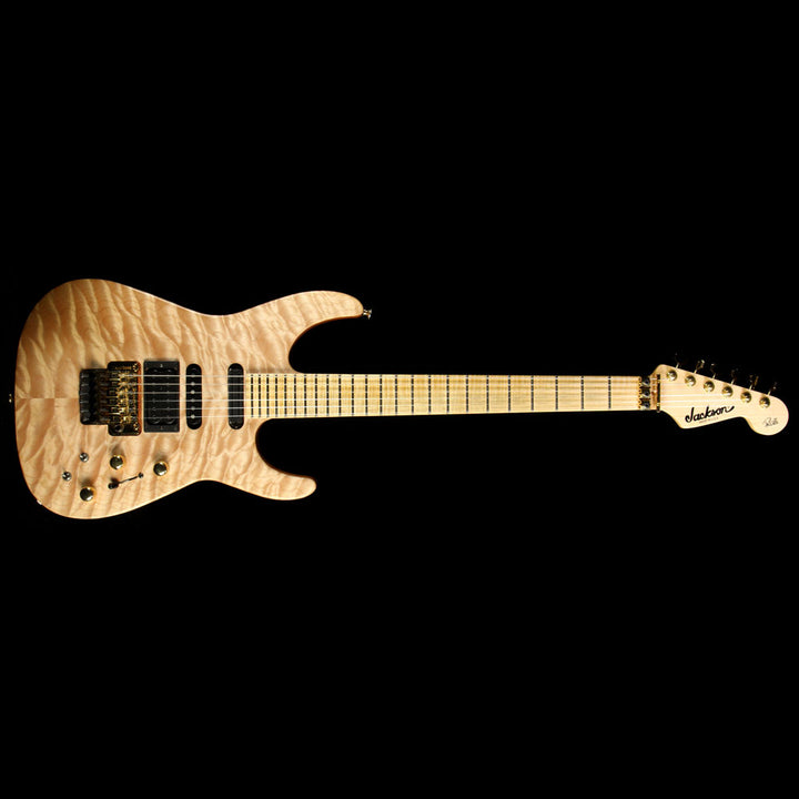 Used Jackson USA Select Artist PC1 Phil Collen Electric Guitar Au Natural 7692