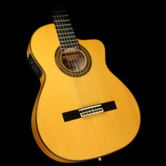 Used Cordoba 55FCE Thinbody Nylon String Acoustic-Electric Guitar Natural
