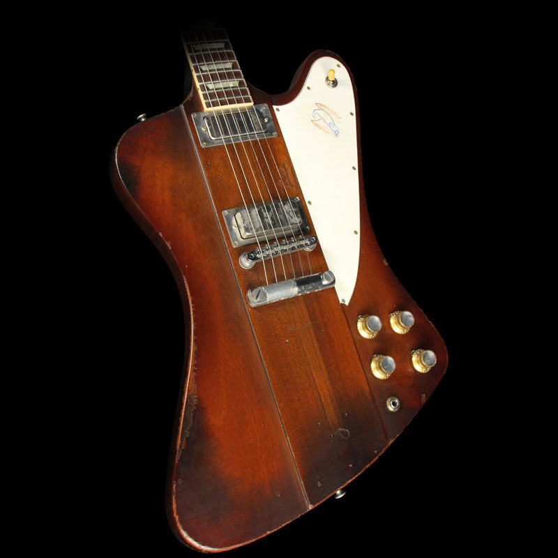 Used Gibson Custom Shop Johnny Winter Firebird Electric Guitar Vintage Sunburst 8