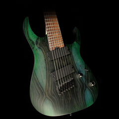 Ibanez RG Iron Label RGIM7BC 7-String Electric Guitar Deep Forest Burst Flat