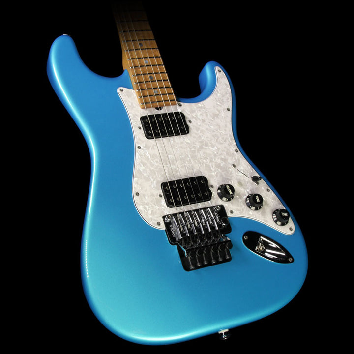 Used 2016 Suhr Classic Electric Guitar Blue Chill Gloss 29765