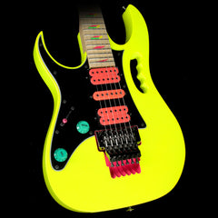 Ibanez JEM777L Steve Vai Signature Left-Handed Electric Guitar Desert Sun Yellow