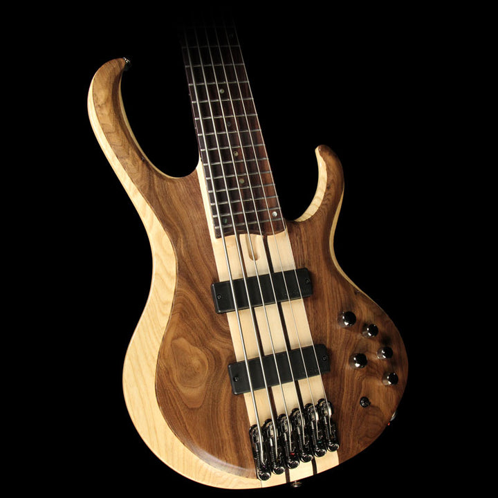 Used Ibanez BTB746 6-String Electric Bass Natural Low Gloss 1p-71