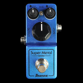 Ibanez Super Metal Mini Distortion Effect Pedal