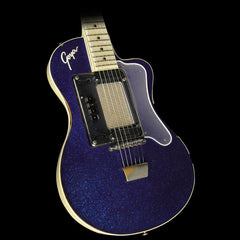 Used 1960 Goya Model 80 Electric Guitar Blue Sparkle