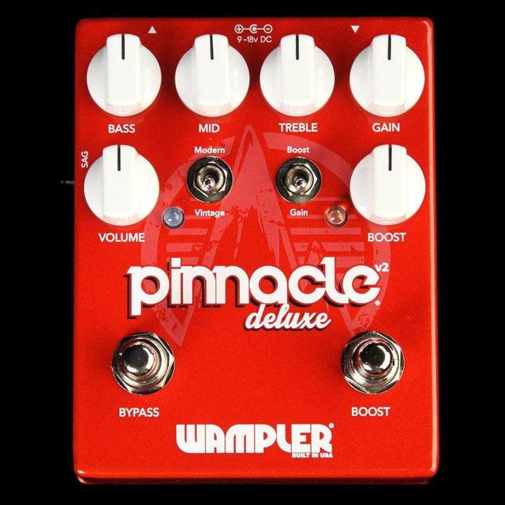 Wampler Pinnacle Deluxe v2 Distortion Effect Pedal Pinnacle Deluxe v2