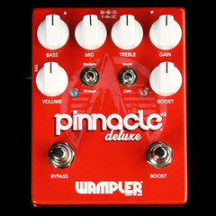 Wampler Pinnacle Deluxe v2 Distortion Effect Pedal