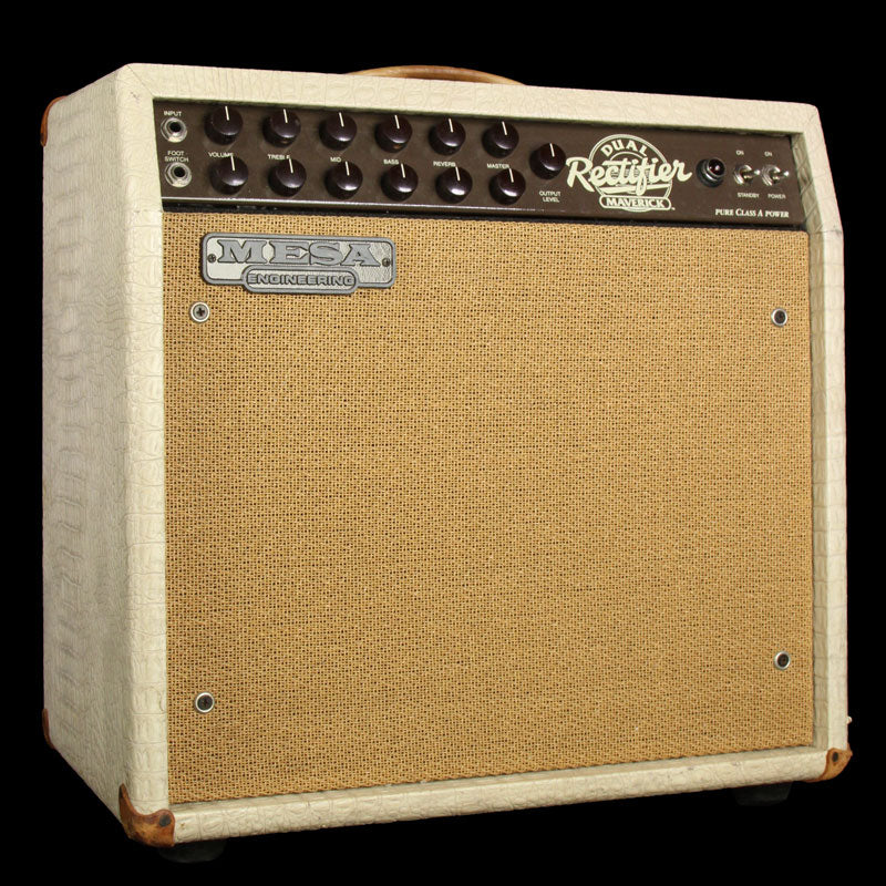 Used Mesa Boogie Maverick Combo Electric Guitar Amplifier Blonde N/A
