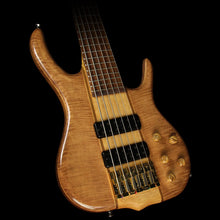 Used Ken Smith MW Series BSR6 Maple Top Electric Bass Guitar Natural