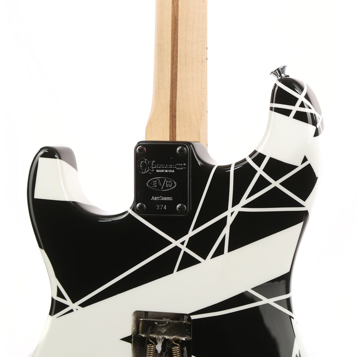 Charvel EVH Art Series Atlantic City Black & White 2008 274