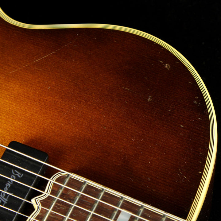 Used 1950 Gibson Super 400 Archtop Guitar Sunburst A6280
