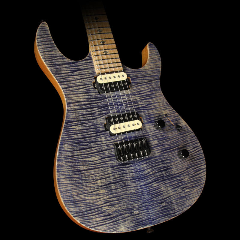 Used 2015 Carvin DC600 Electric Guitar Faded Blue Denim 125549