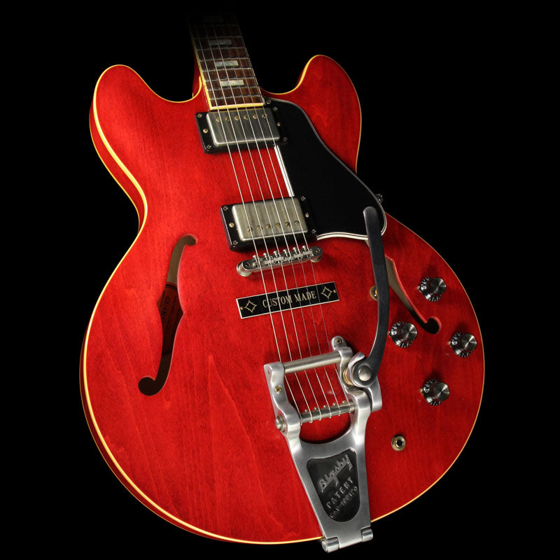 Used 2014 Gibson Memphis Rich Robinson ES-335 Electric Guitar VOS Cherry 02060 (84/100)