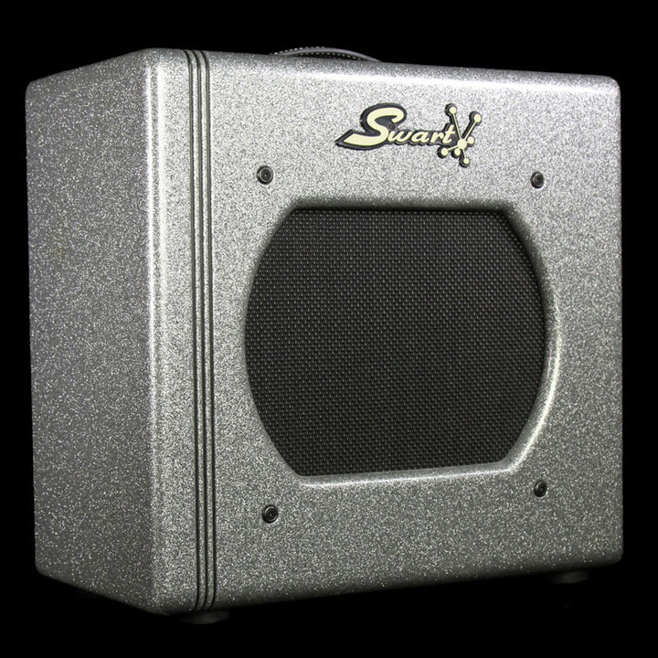 Used Swart STR Space Tone Reverb STR-Tweed Combo Amplifier Silver Sparkle 271
