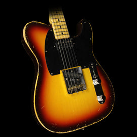 Fender Custom Shop 2017 NAMM Display Masterbuilt Paul Waller '59 Telecaster Heavy Relic Electric Guitar 2-Tone Sunburst