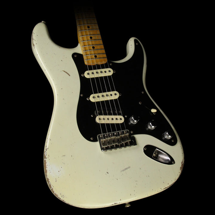 Fender Custom Shop 2017 NAMM Display Masterbuilt Todd Krause '56 Stratocaster Relic Electric Guitar Aged Olympic White R88668