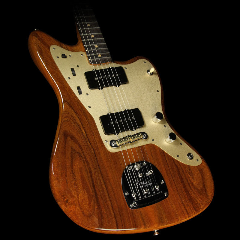 Fender Custom Shop 2017 NAMM Display Custom Collection Artisan Jazzmaster NOS Electric Guitar Natural Tasmanian Blackwood CZ528045