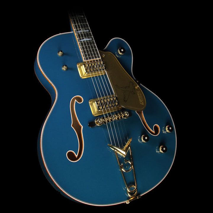 Gretsch Custom Shop 2017 NAMM Display Masterbuilt Stephen Stern '58 Falcon G6136 Electric Guitar Peacock Iridescent UC16121485