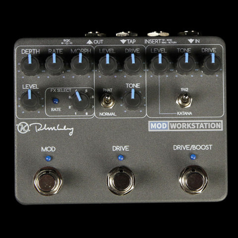 Keeley Mod Workstation Modulation and Overdrive Effect Pedal