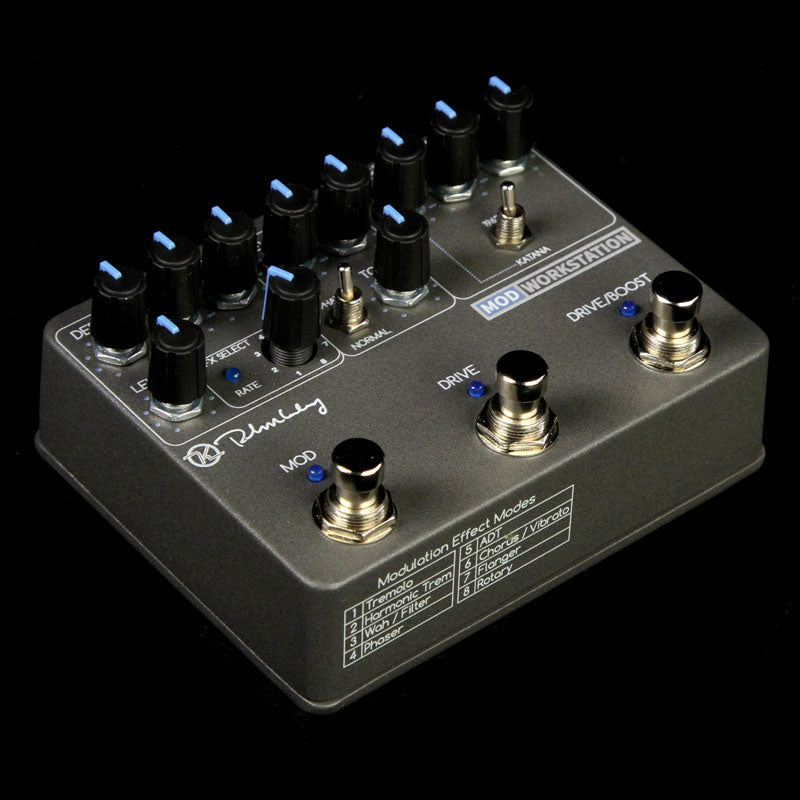 Keeley Mod Workstation Modulation and Overdrive Effect Pedal KWSMod
