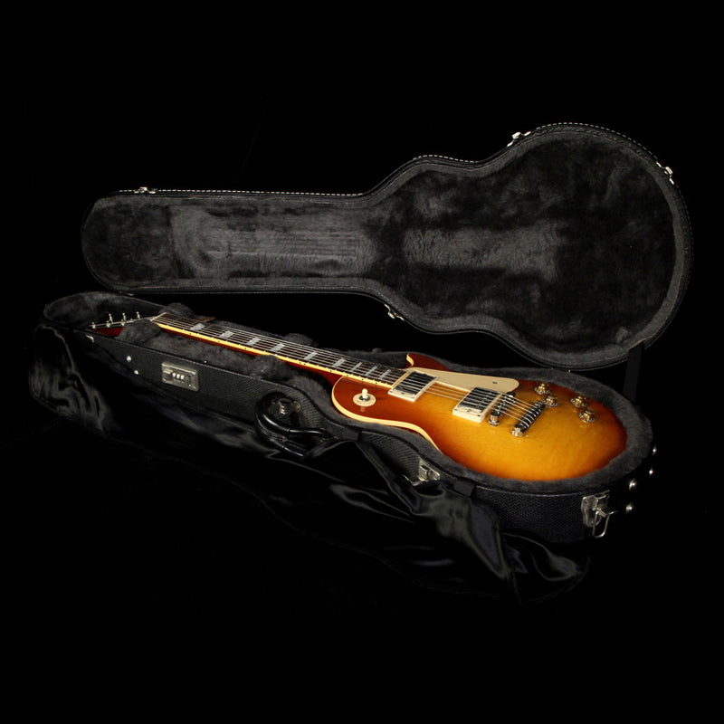 Used 2003 Gibson Les Paul Standard Electric Guitar Sunburst 93489
