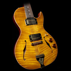 B&G Guitars Little Sister Private Build Brazilian Rosewood Fretboard Electric Guitar Lemon Burst