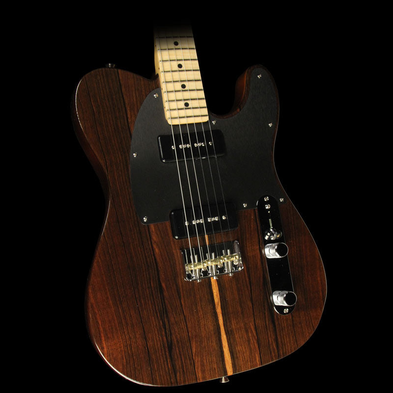 Fender Limited Edition FSR Exotic Malaysian Blackwood Telecaster Electric Guitar Natural US17048076