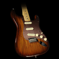 Fender Exotic Collection Shedua Top Stratocaster Electric Guitar Shaded Edge Burst
