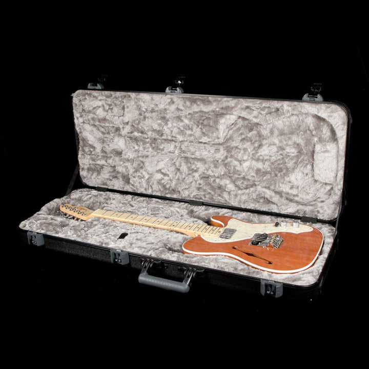 Fender American Elite Telecaster Thinline Mahogany Limited Edition Electric Guitar Natural US17029873