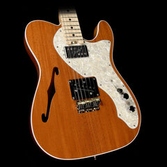 Fender American Elite Telecaster Thinline Mahogany Limited Edition Electric Guitar Natural