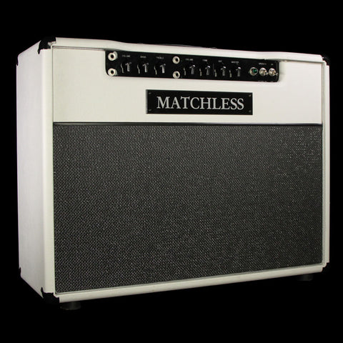 Used Matchless DC-30 Guitar Combo Amplifier White