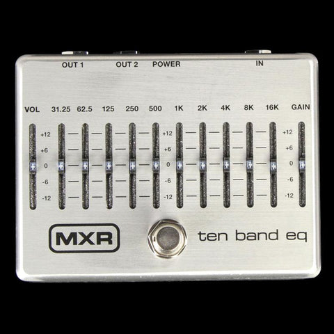 MXR M108S Ten Band Equalizer Effect Pedal