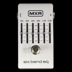 MXR M109S Six Band Equalizer Effect Pedal