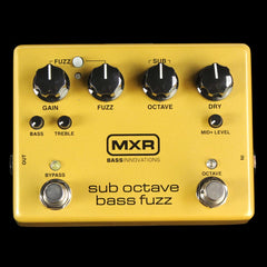MXR Sub-Octave Bass Fuzz Effects Pedal