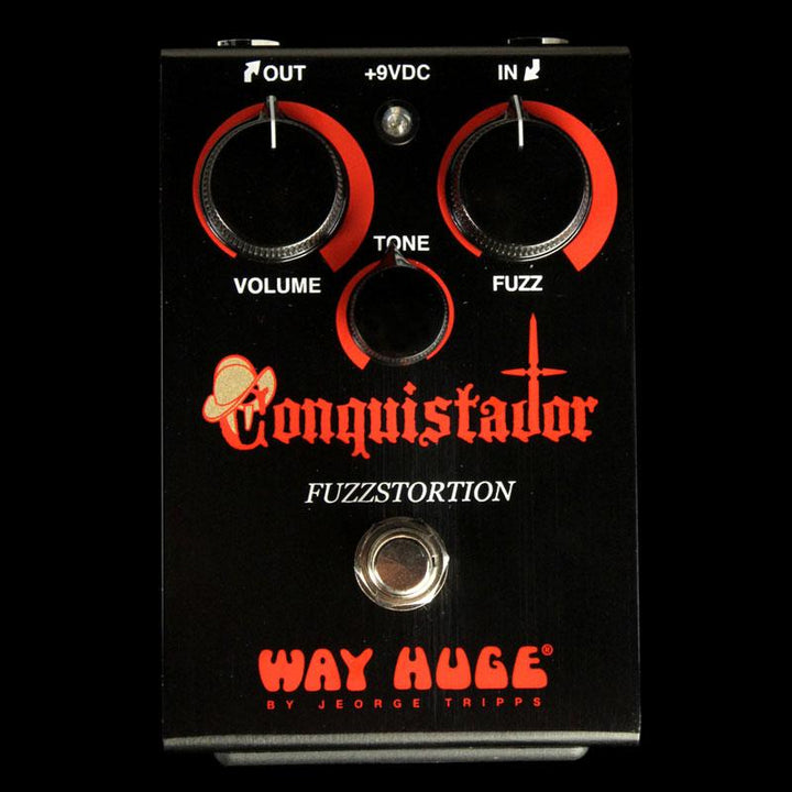 Way Huge Conquistador Fuzzstortion Gated Fuzz Effect Pedal WHE406