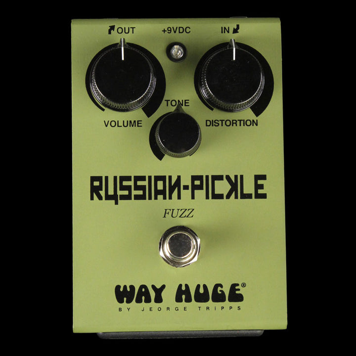 Way Huge Russian Pickle Fuzz Effect Pedal WHE408