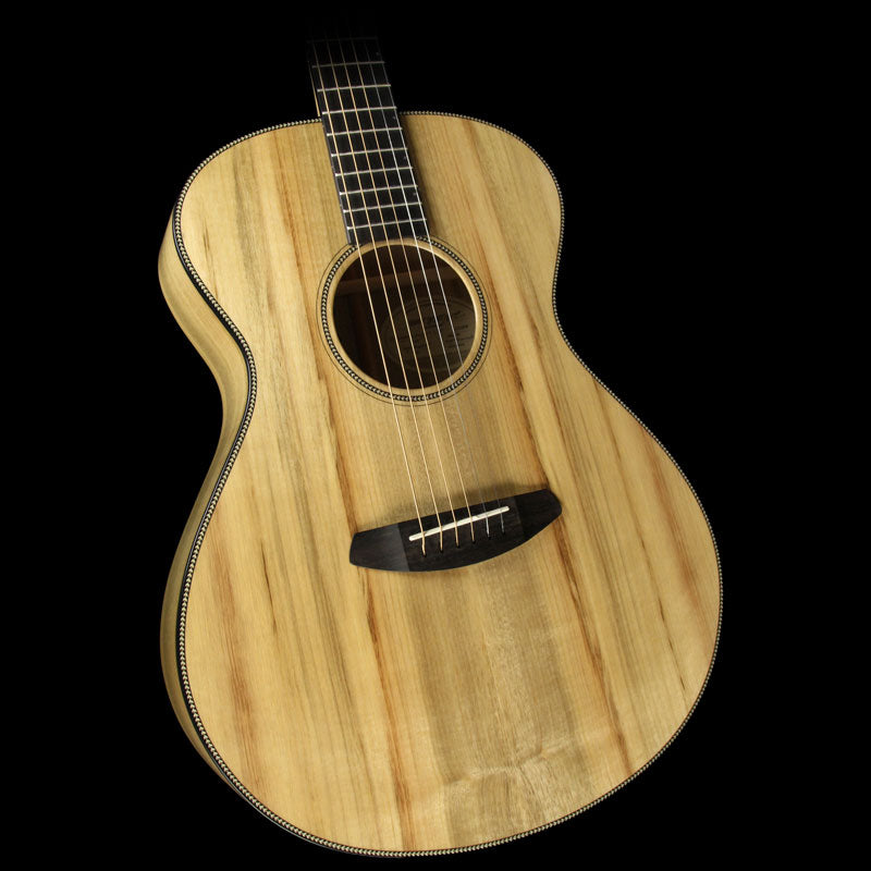Used Breedlove Oregon Concert Limited Edition Myrtlewood Acoustic Guitar Natural 20288