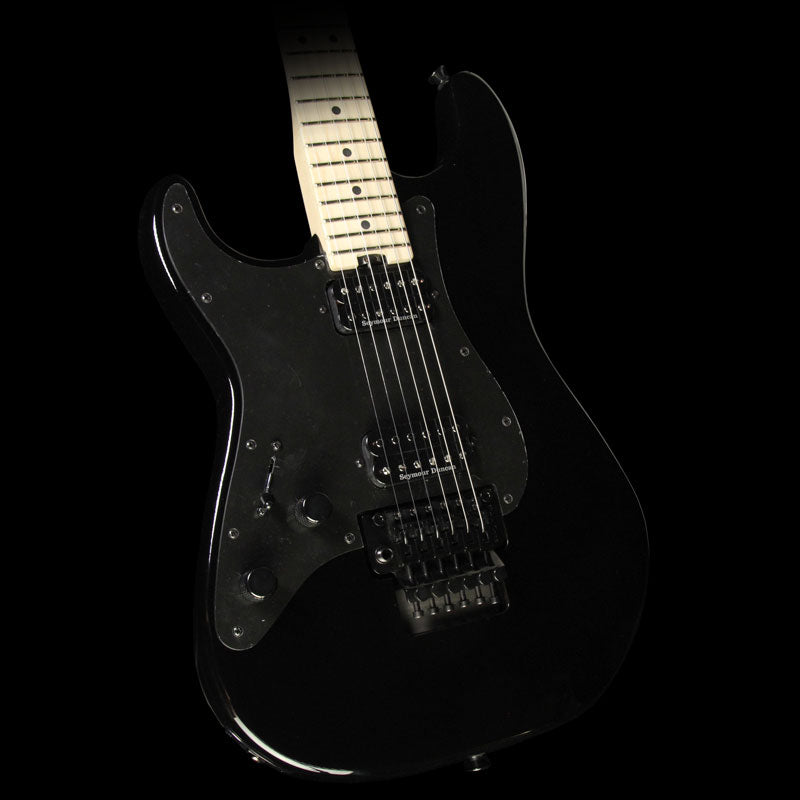 Used Charvel Pro Mod Series So Cal Style 1 HH FR Left-Handed Electric Guitar Black Gloss 2968001503
