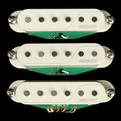 Fishman Fluence Single Width for Strat Electric Guitar Pickup Triple Set White