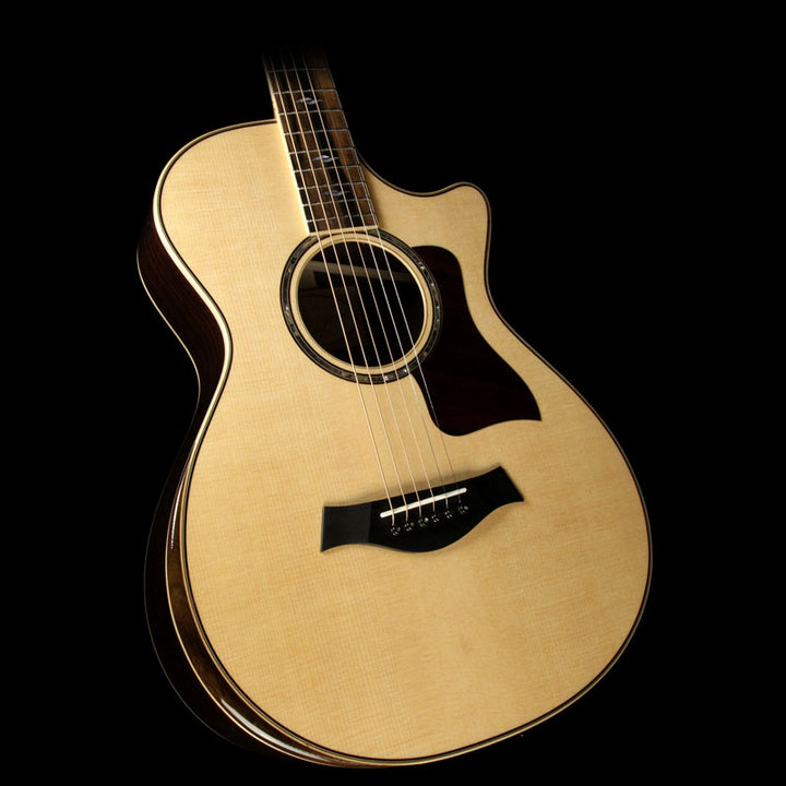 Used Taylor 812ce 12-Fret Deluxe Grand Concert Acoustic-Electric Guitar 1112216052