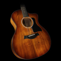 Taylor 224ce-K Deluxe Koa Grand Auditorium Acoustic/Electric Guitar Shaded Edgeburst