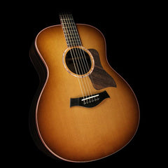 Taylor Custom Shop NAMM 2017 Display Grand Symphony Macassar Ebony Acoustic/Electric Guitar Satin Shaded Edgeburst