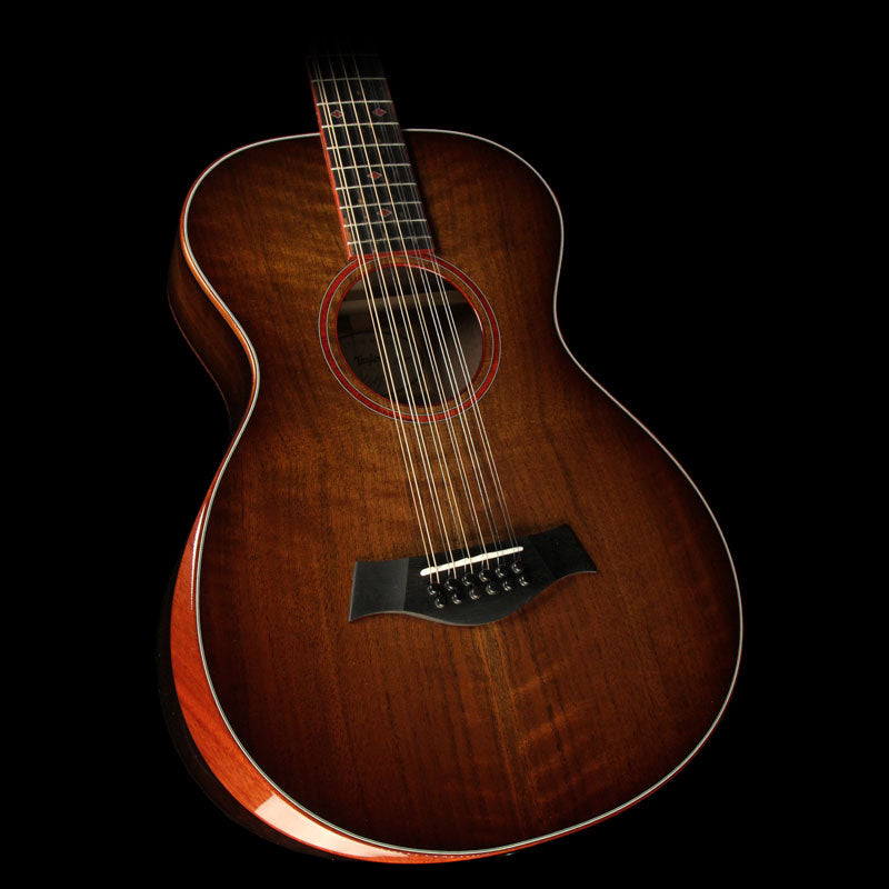 Used Taylor Custom Shop Grand Concert 12-Fret 12-String Acoustic Guitar Shaded Edgeburst 1111106091