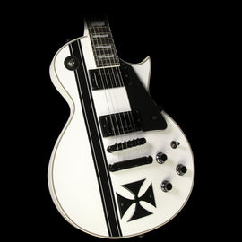 ESP LTD James Hetfield Signature Iron Cross Electric Guitar White